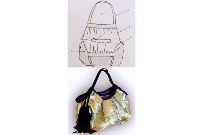 KOMELY HANDBAG ADULT CRAFT CLASSES –Sewing Instructions   Granny Bag